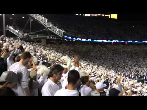 goPSUrv.com Stadium shaking Zombie Nation at Penn State