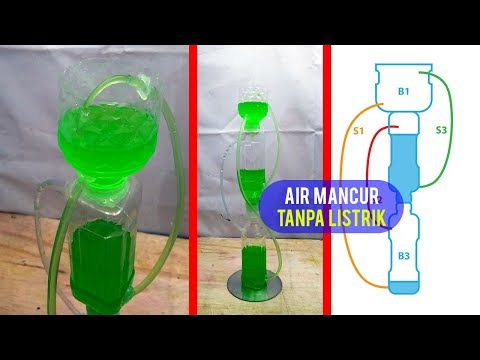 How to Make Mini Fountain using Plastic Bottle | DIY Heron's Fountain