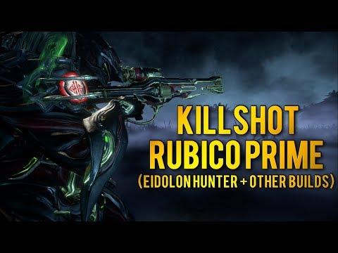 Warframe: RUBICO PRIME | BEST EIDOLON HUNTER + OTHER BUILDS
