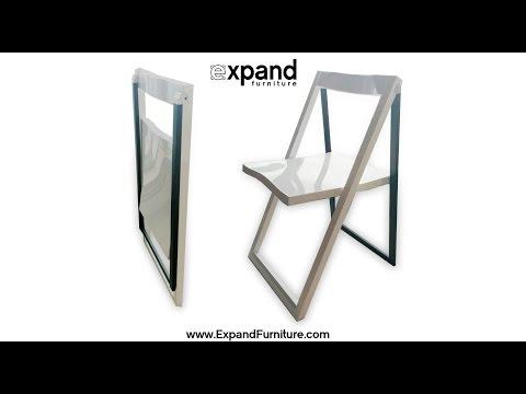 Pendulum Wood Folding Chair with Style