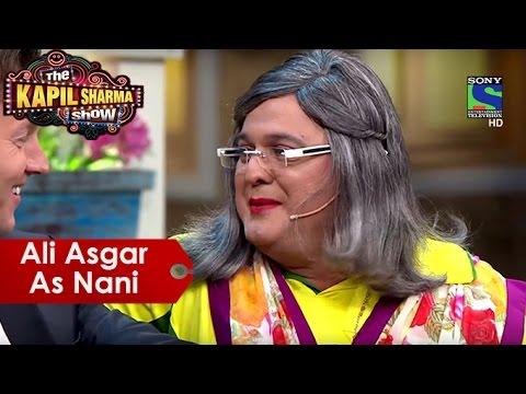 Ali Asgar As Nani | The Kapil Sharma Show...