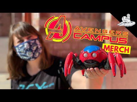 Spider-Bot Battle Outside Avengers Campus!