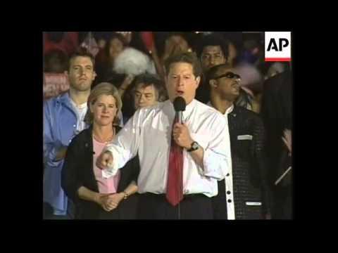 USA: MIAMI: PRESIDENTIAL ELECTION: AL GORE