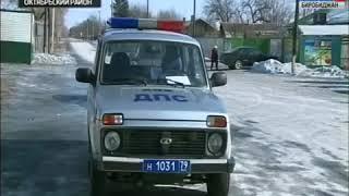 Акцию для автолюбителей села Амурзет провели сотрудники ГИБДД совместно с волонтёрами