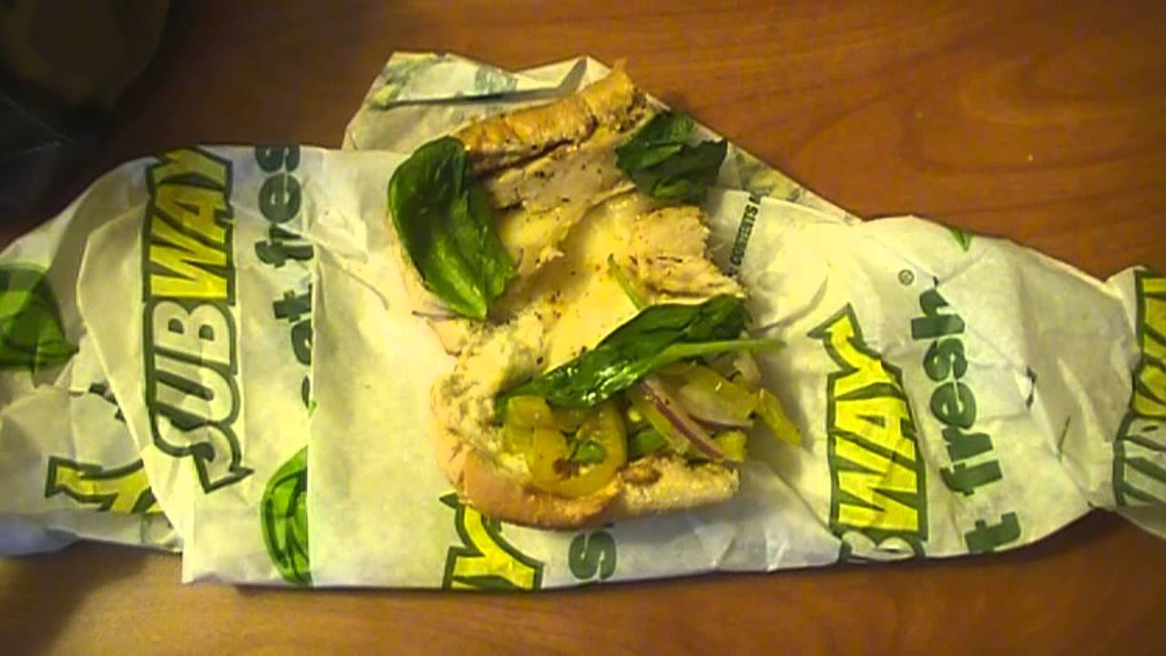 Review Chicken Tuscan Subway Melt