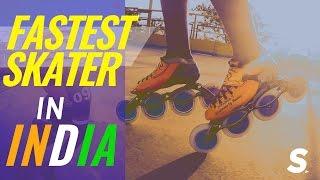 Repeat youtube video India's FASTEST Speed Skater! | Nikhilesh Tabhane