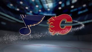 St. Louis Blues vs Calgary Flames - November 13, 2017 | Game Highlights | NHL 2017/18. Обзор матча