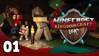 Kingdomcraft UHC I - Ep. 1: Team Noob!