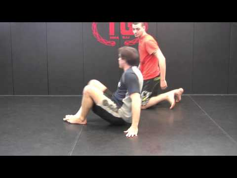 MMA NJGracie BJJ black belt Wil Horneff s a high percentage NoGi Sweep From Deep Half Guard