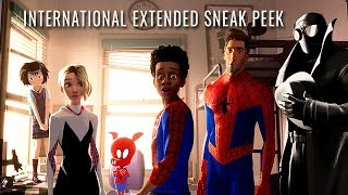 SPIDER-MAN: INTO THE SPIDER-VERSE - International Extended Sneak Peek - In Cinemas December 13