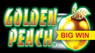 MAJOR PROGRESSIVE! Quick Fire Jackpots Golden Peach Slot - $7.50 Max Bet BIG WIN Bonus!