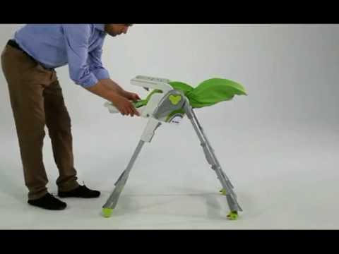 Chaise Bébé evolutive BREVI - YouTube