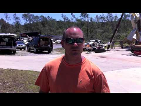 lake martin tornado survival story: ronnie dennis of green monster, Reel Combo