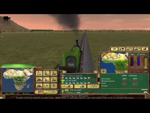 Playing as an AI slug Ep17 Started my slug Railroad 5 trains Adding stations