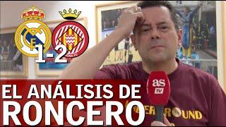 Real Madrid 1- Girona 2   Roncero, hundido por la derrota del Madrid   Diario AS