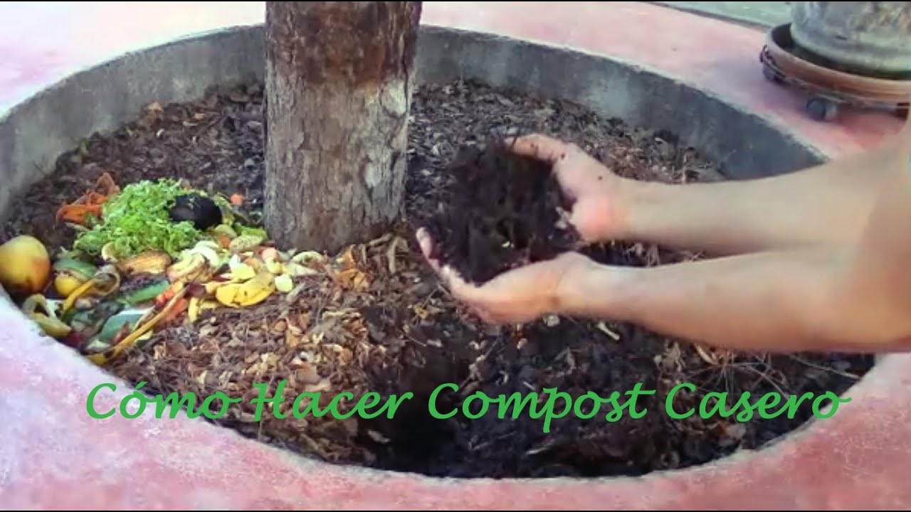 Como hacer compost o composta youtube for Como hacer una pileta de jardin