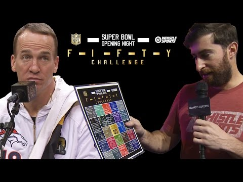 Super Bowl 50 Scavenger Hunt | Featuring Peyton Manning, Thomas Davis, Jared Allen
