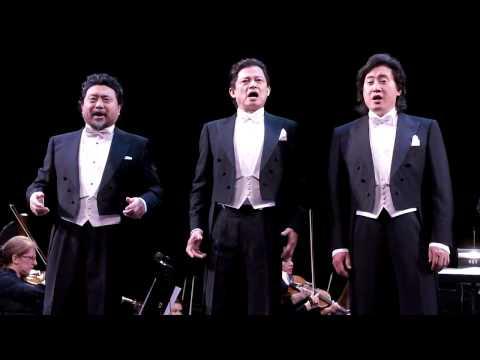 China's Three Tenors 中国三大男高音 - Torna a Surriento, Core 'Ngrato & Funiculì, Funiculà