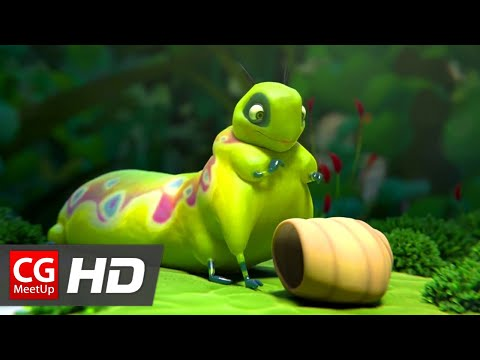 "CGI Animated Short Film ""Sweet Cocoon Short Film"" by ESMA"