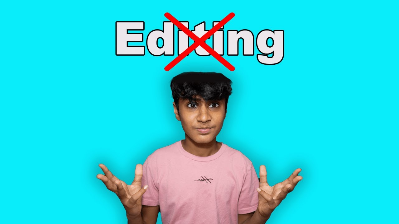 ASMR But, I'm Not Allowed to Edit The Video