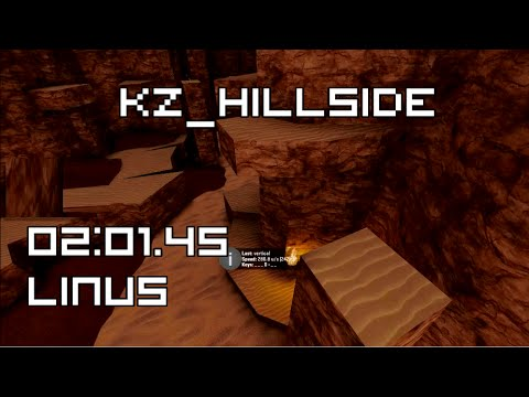 [CS:GO KZ] kz_hillside in 02:01.45 by linus