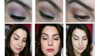 3 in 1 Tutorial: Soft, Natural Eyes!
