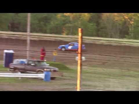 Hummingbird Speedway (7-7-18): Aaron's Four-Cylinder Heat Race #1