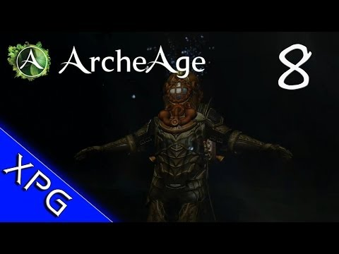 Lets Play... ArcheAge Episode 8 (Deep Sea Diving and Salvage)