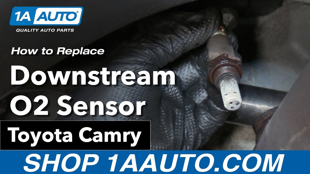 medium resolution of how to replace downstream o2 sensor 06 11 toyota camry