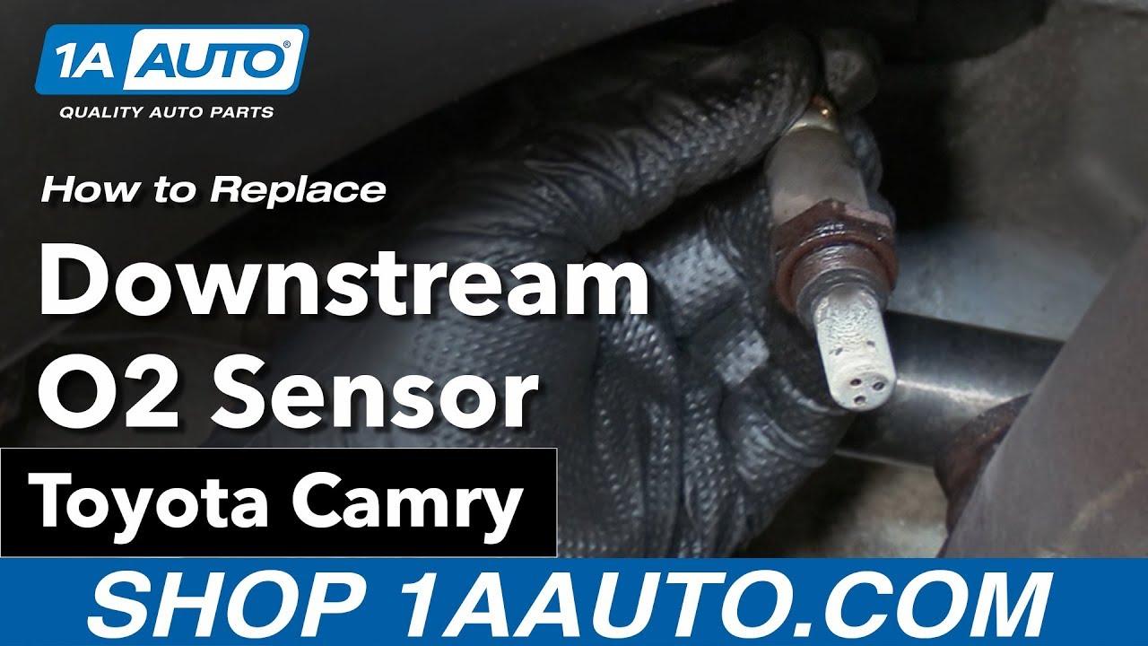 how to replace downstream o2 sensor 06 11 toyota camry [ 1280 x 720 Pixel ]