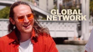 Global Network - Love On Top // Black Roses // Mirage | LES CAPSULES live performance