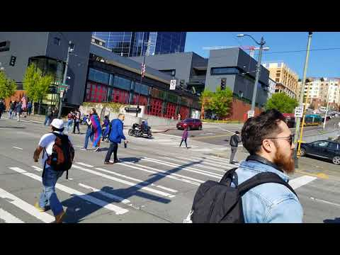 May Day March - May 1, 2018 (Seattle)