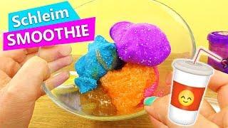 Slime Smoothie   Evas erster Schleim Mix   DIY Glibber mischen   DIY Experiment   Überraschung