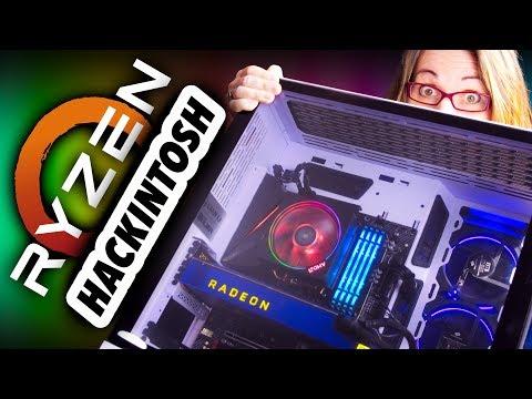 1st VANILLA! AMD Ryzen HACKINTOSH Build 2019 - It Cannot Be Easier!