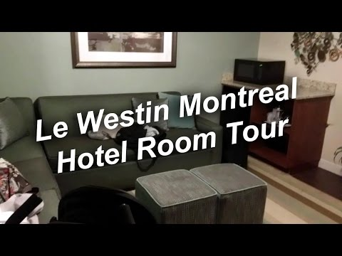 [HD] Le Westin Montreal Hotel Room Tour