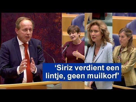 Van der Staaij (SGP) vs D66, PvdA en GroenLinks over abortus en Siriz