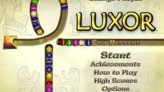 Luxor: 5th Passage Title Screen (PC)