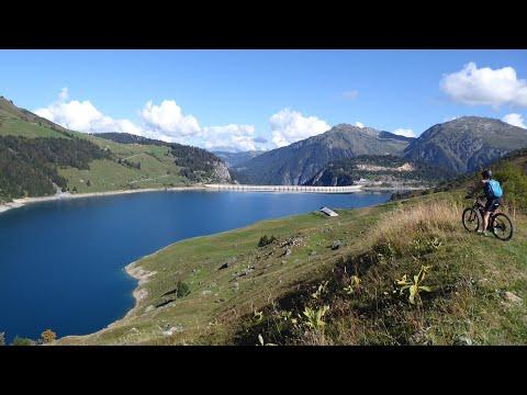 VTT - Tour Du Lac De Roselend Et Lac De La Gittaz (Beaufortain) 04/09/2018
