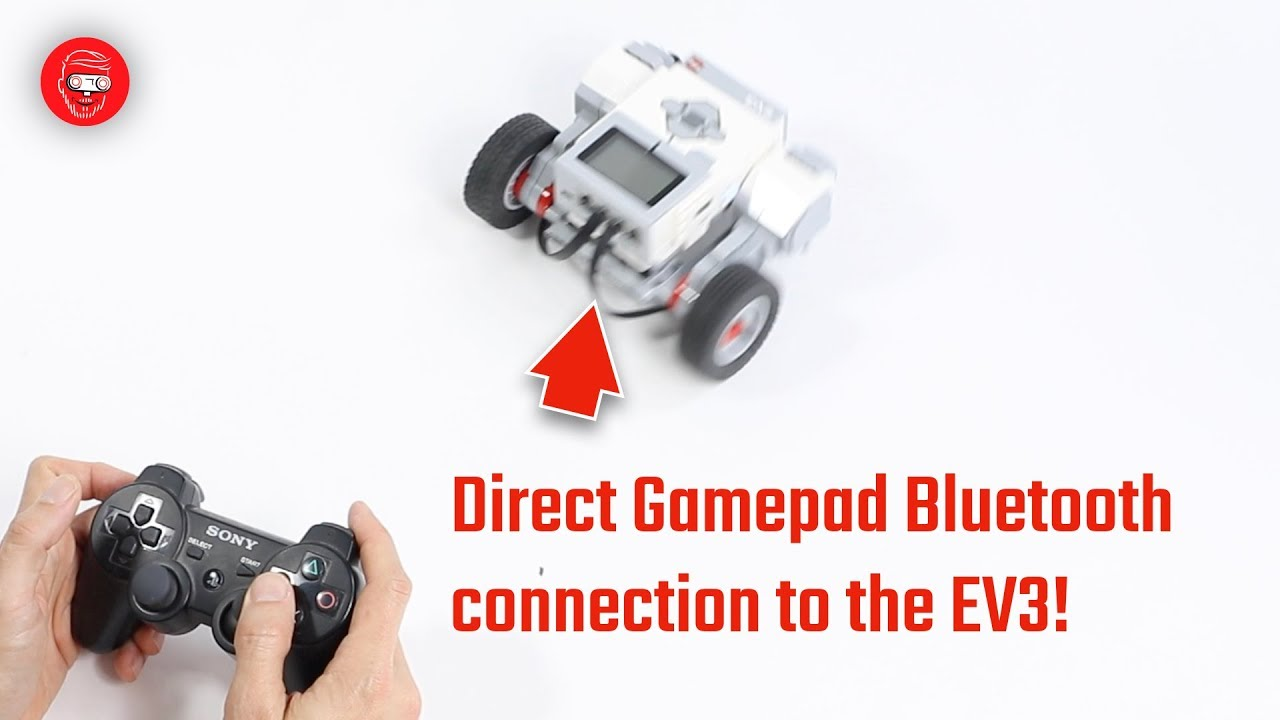 How to connect a PS3 Sixaxis gamepad to an EV3 brick via Bluetooth