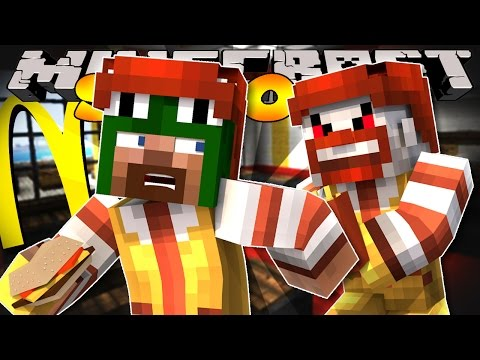 Minecraft School - EVIL RONALD MCDONALD TAKES OVER!