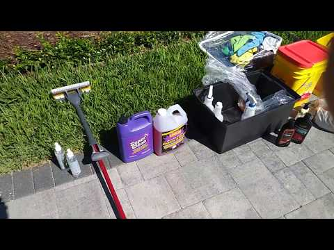 Aluminum Trailer How To Clean Remove Black Streaks Polish Out Scratches PT1/7