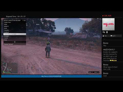 GTA5 ONLINE Giving Cars To Subscribers 7-11-19