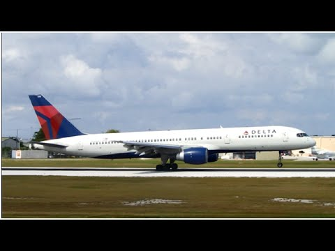 VERY RARE Delta Airlines Boeing 757-200 At Owen Roberts International Airport(MWCR)