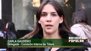 El Directorio de Télam denunció a sus delegados gremiales