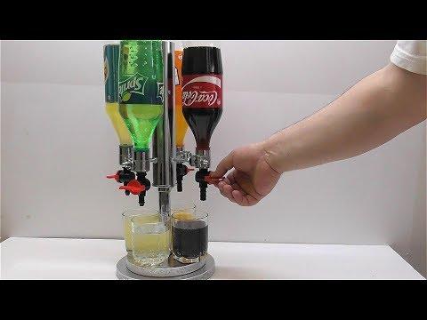 Как сделать диспенсер Кока кола Спрайт Швепс Фанта