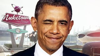 OBAMA PLAYS BLACK OPS 2! - (Funny VOICE Trolling!)