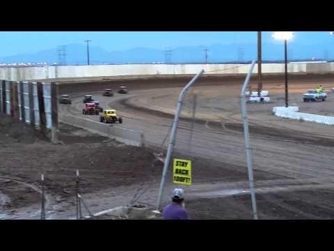 DDCC DWARF CARS HEAT #1 AT USA RACEWAY 6/27/15