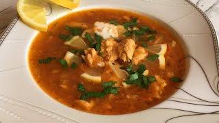 Солянка из Красной Рыбы(Очень Бюджетный Вариант)Saltwort(Red Fish Soup)/Рыбная Солянка