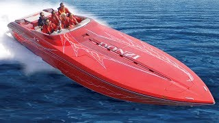 Fastest Powerboats - Donzi 43 ZR / Poker Run - Not for beginners