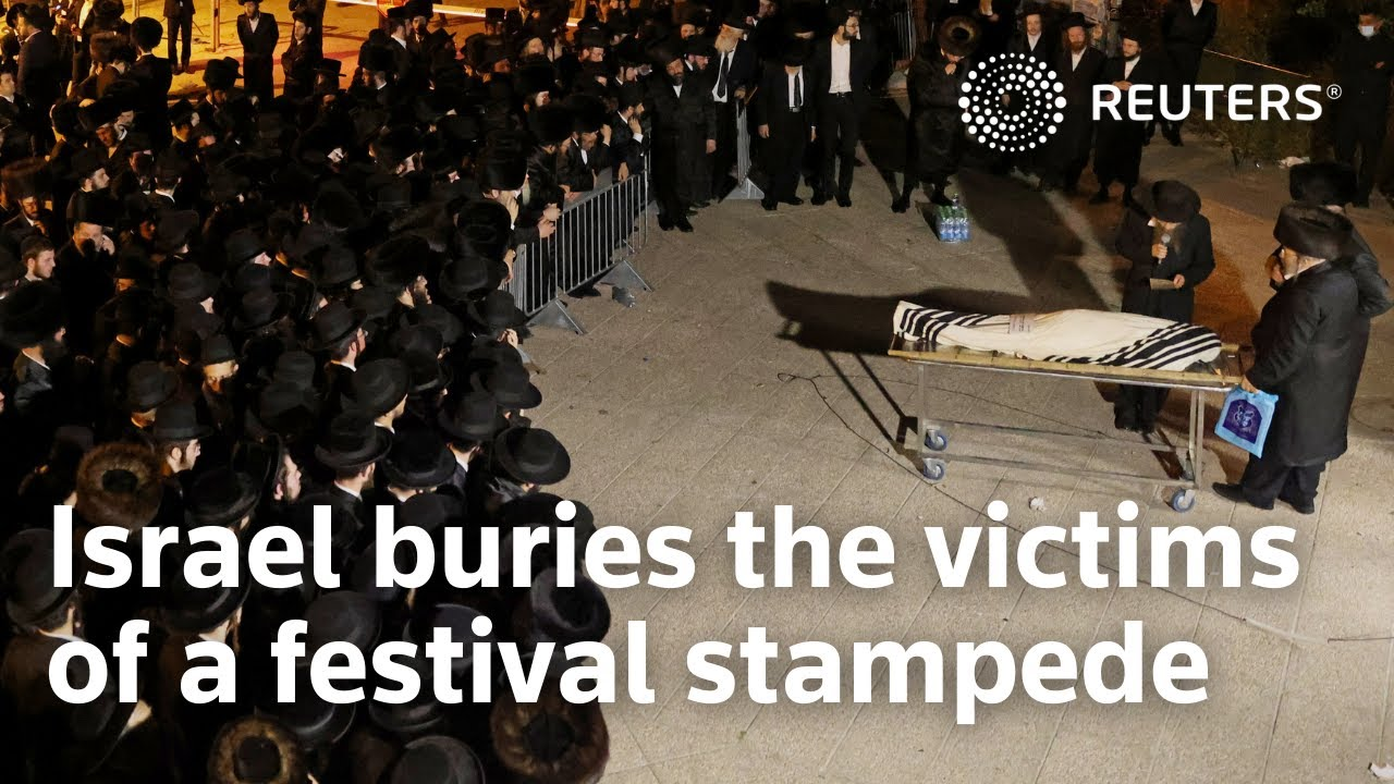 Israel buries the victims of a festival stampede